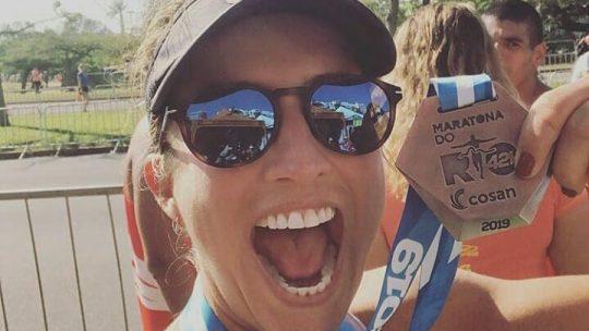 Luciana Vieira e a Maratona do Rio: 'Que dia inesquecível! Foi a realização de um sonho!'