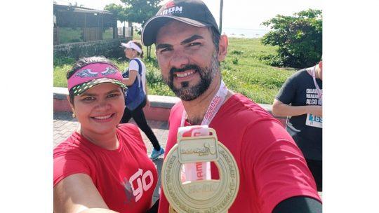 Eduardo Medeiros: 'quando estou correndo consigo pensar na vida, no trabalho… Sempre positivamente!'