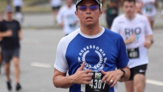 Fábio Vale: enfim a Maratona