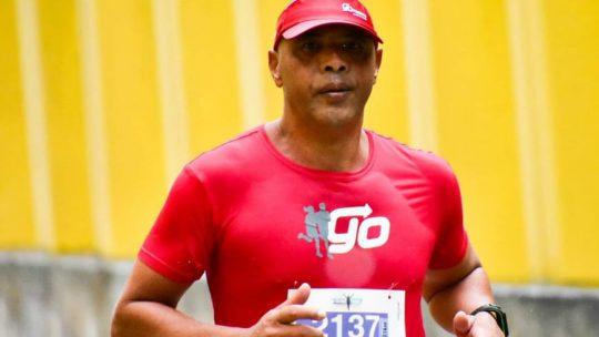 Denílson de Andrade: 'Posso afirmar que a corrida é vida e uma libertação!'