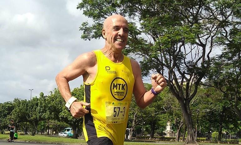 Mauro Affonso versão 2020: aos 60 anos, a primeira maratona, com a Mitokondria