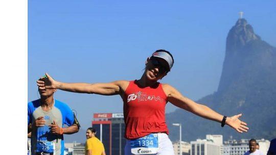'A corrida é aquela viagem interna e ao mesmo tempo uma conexão com o mundo'