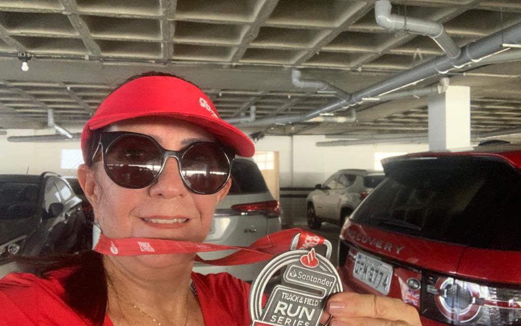 """Arlete Domingues, da Go Runners: """"Tudo vai passar e em breve estaremos juntos na nossa caminhada, que é a corrida!"""""""